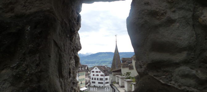Lunch in Liechtenstein…