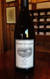 Hansen Vineyards 2015 Estate Grown Rose
