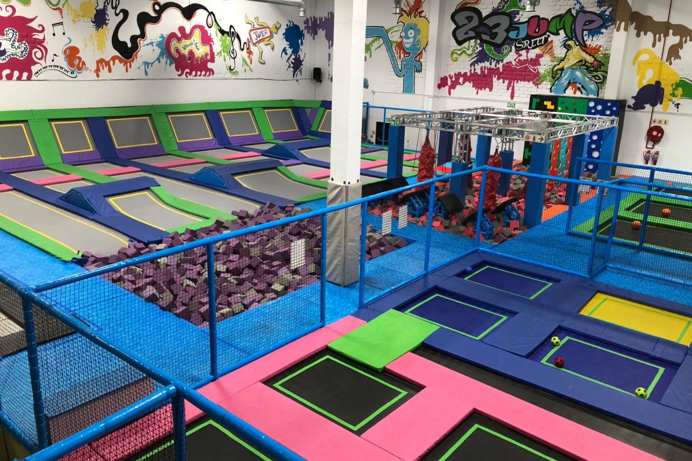Trampoline Park | Build | Customise | Install
