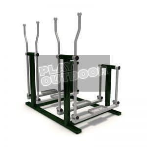 Double Air Skier | PO-FE0064 | Outdoor Fitness
