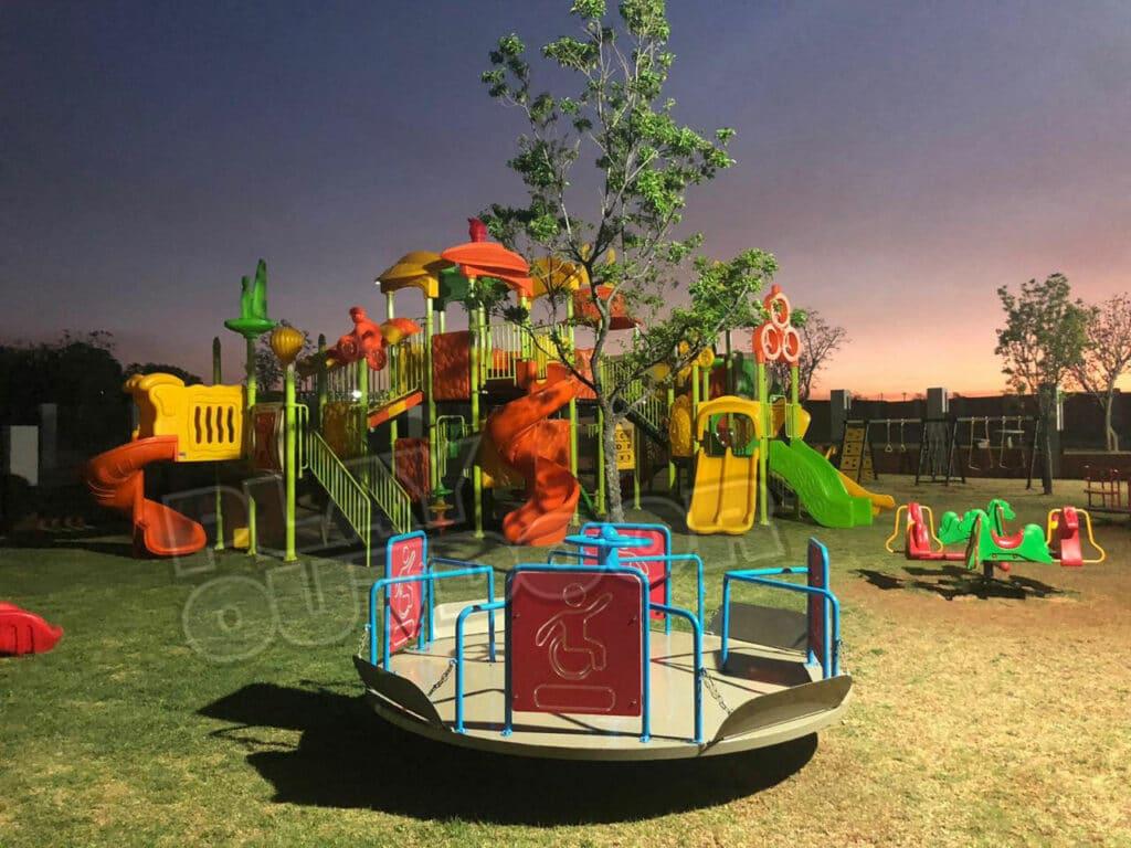 Household of Christ Church   Mooikloof Pretoria   Jungle-Gym, Swings & Roundabout Installation