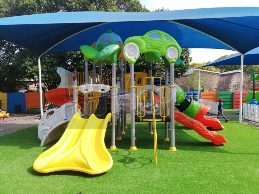 Play Outdoor - Jungle-gym Installation