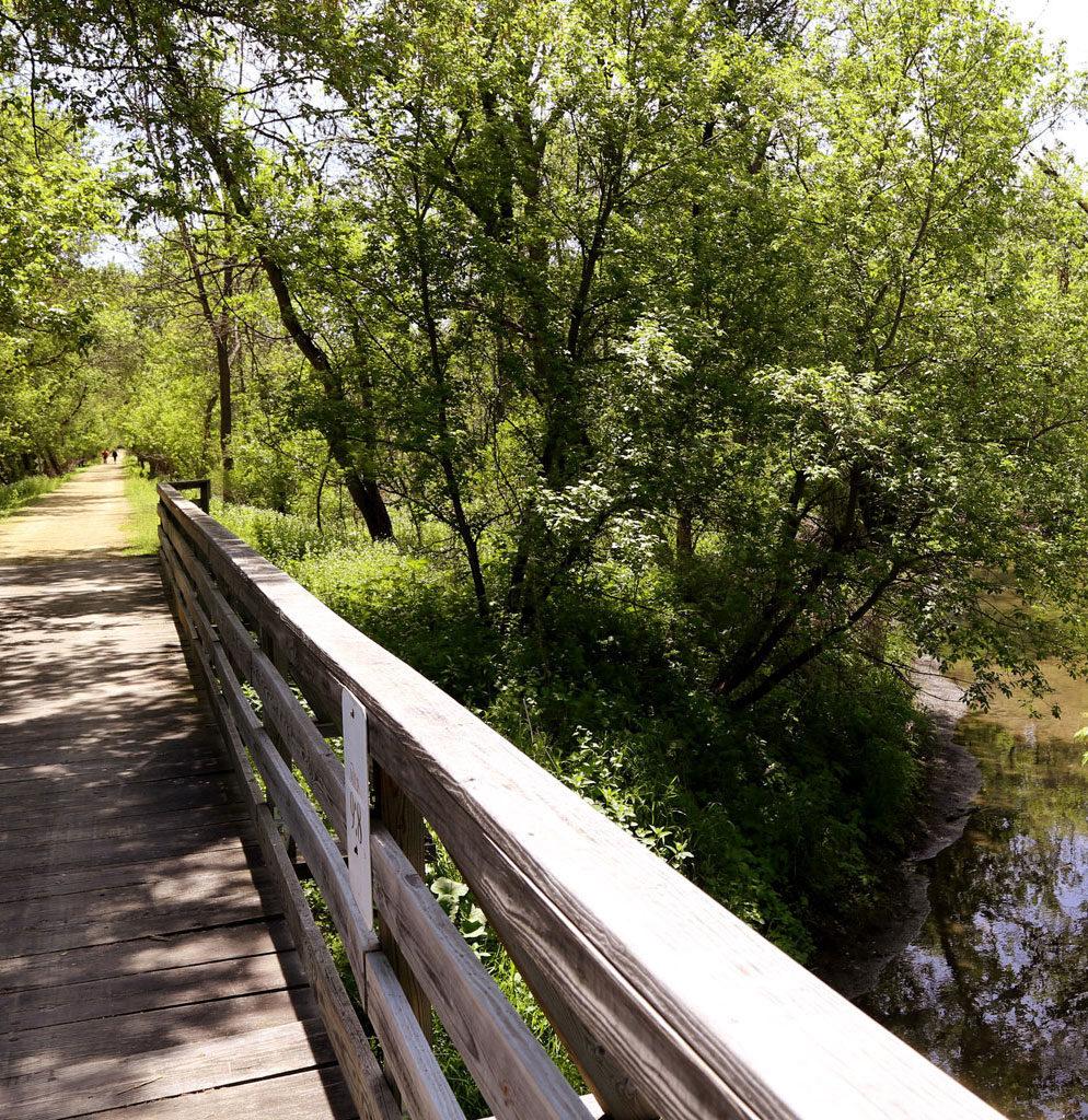 Jane addams Trail bridge