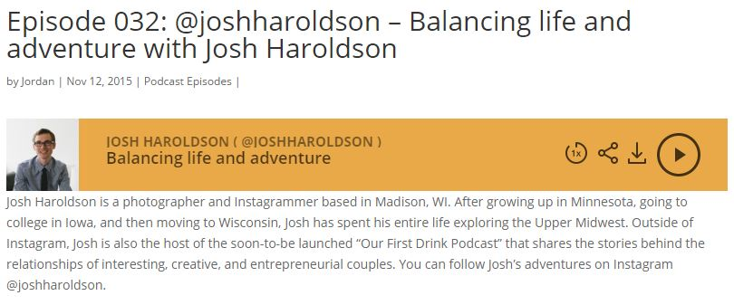 Hashtagged Podcast with Josh Haroldson