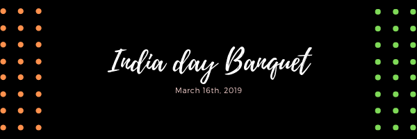 India Day Banquet: March 16th