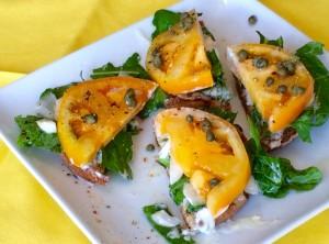 Summer Tomato Sandwich | #pkway