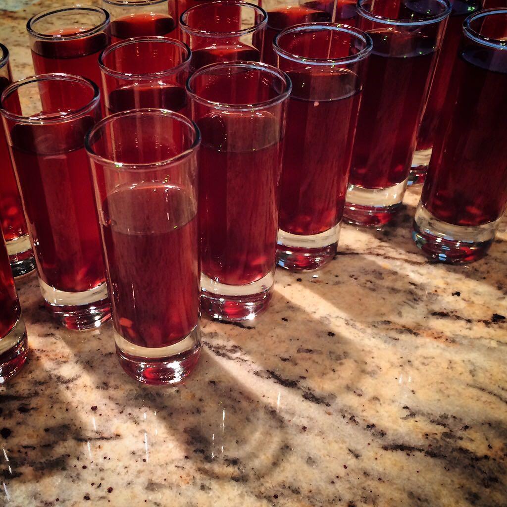 Pomegranate Martini   The Diva