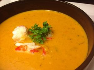 Glorious Lobster Bisque