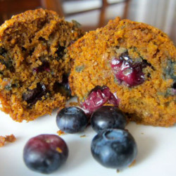 Whole Grain Madness Blueberry Muffins