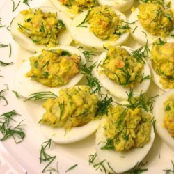 Healthy Holidays: Deviled Eggs with Smoked Salmon (May Include Caviar)