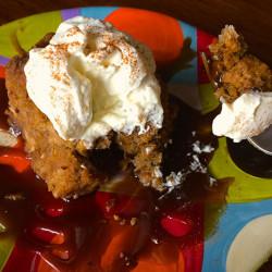 Pumpkin Bread Pudding with Salted Bourbon Caramel Sauce: A Revelation