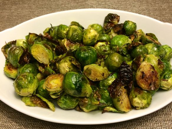 Bowl of Roasted Brussels Sprout |#pkway