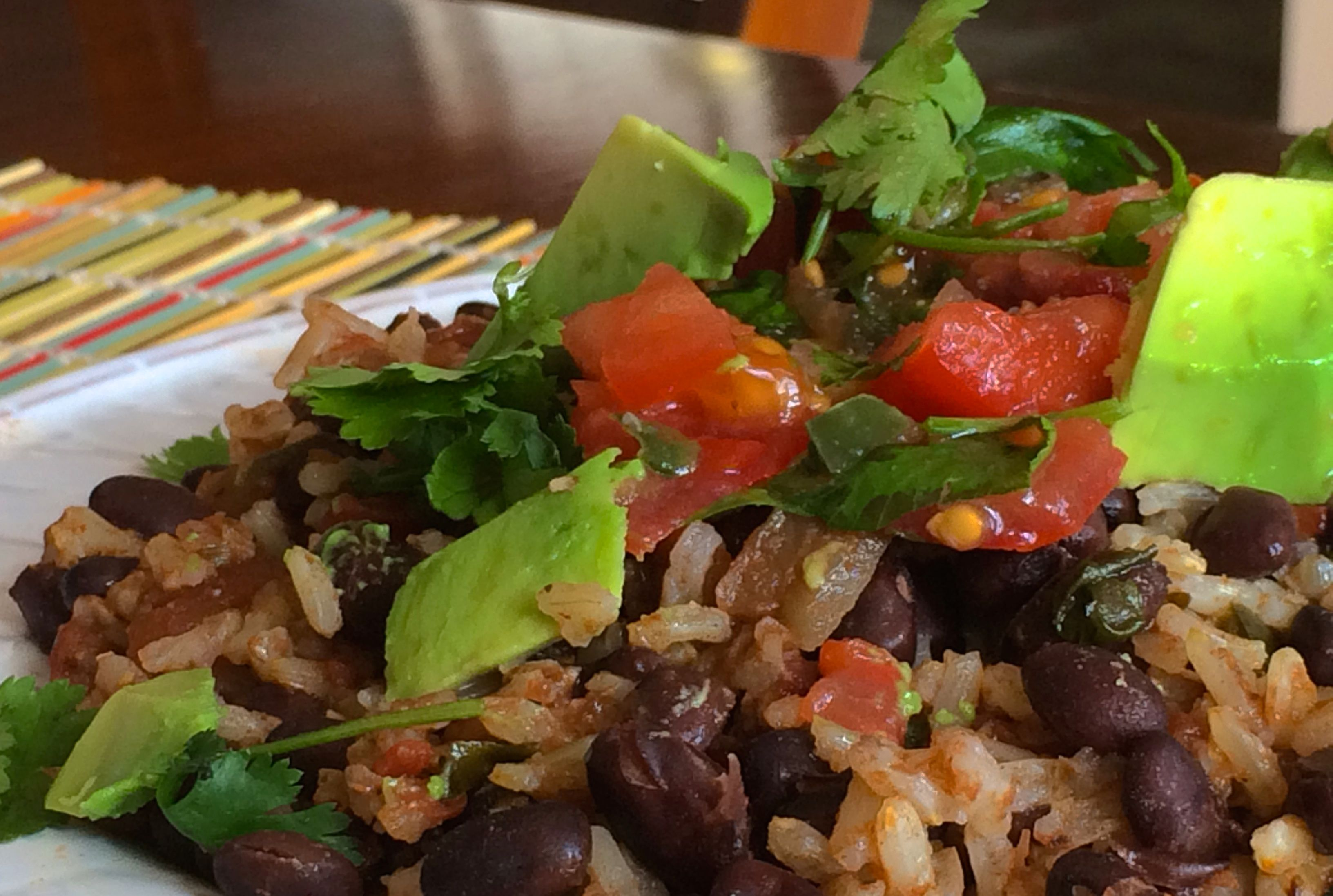Mexican Rice and Beans   #pkway