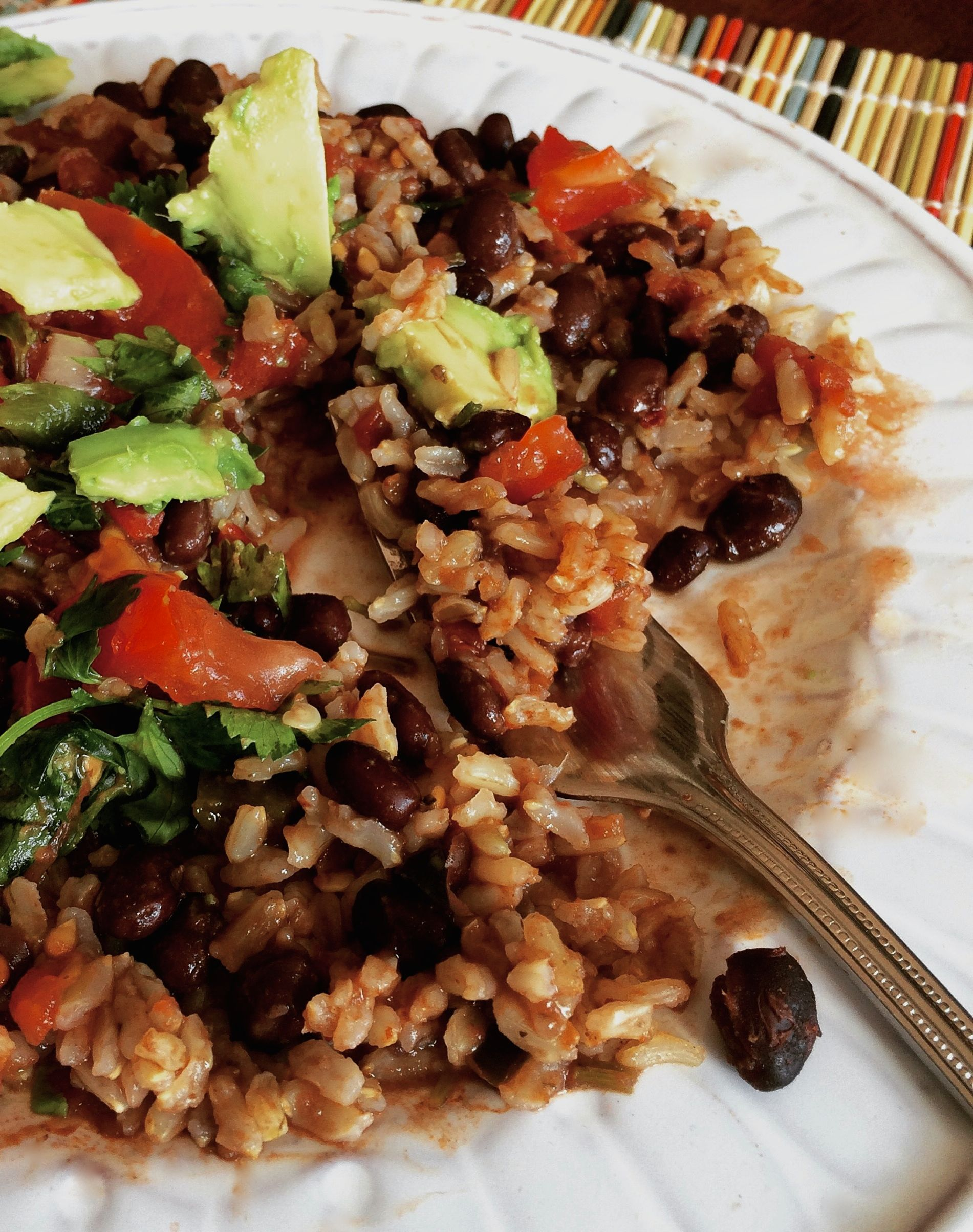 Rice and Beans  #pkway