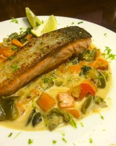 Thai Salmon with Green Curry | PK Newby