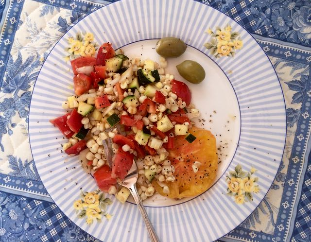 Summer Corn Salad | PK Newby