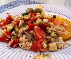Summer Corn Salad | #pkway