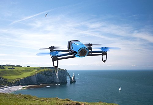 The Parrot Bebop became an autonomous drone. Bebop owners can tap waypoints and let the drone fly completely autonomous.