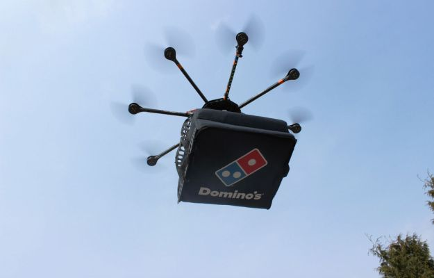 domicopter - pizza delivery by drone