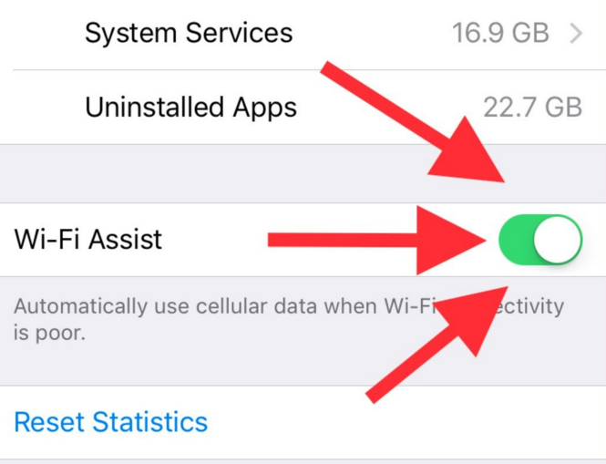 WiFi assist - for iPhone users