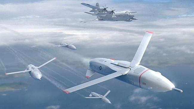 Gremlin Drones are a surveillance UAV's designed to be deployed and collected by an aircraft mid-air. Part of a Darpa (Defense Advanced Research Projects Agency) program