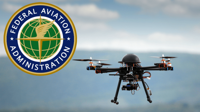 Drone application - FAA