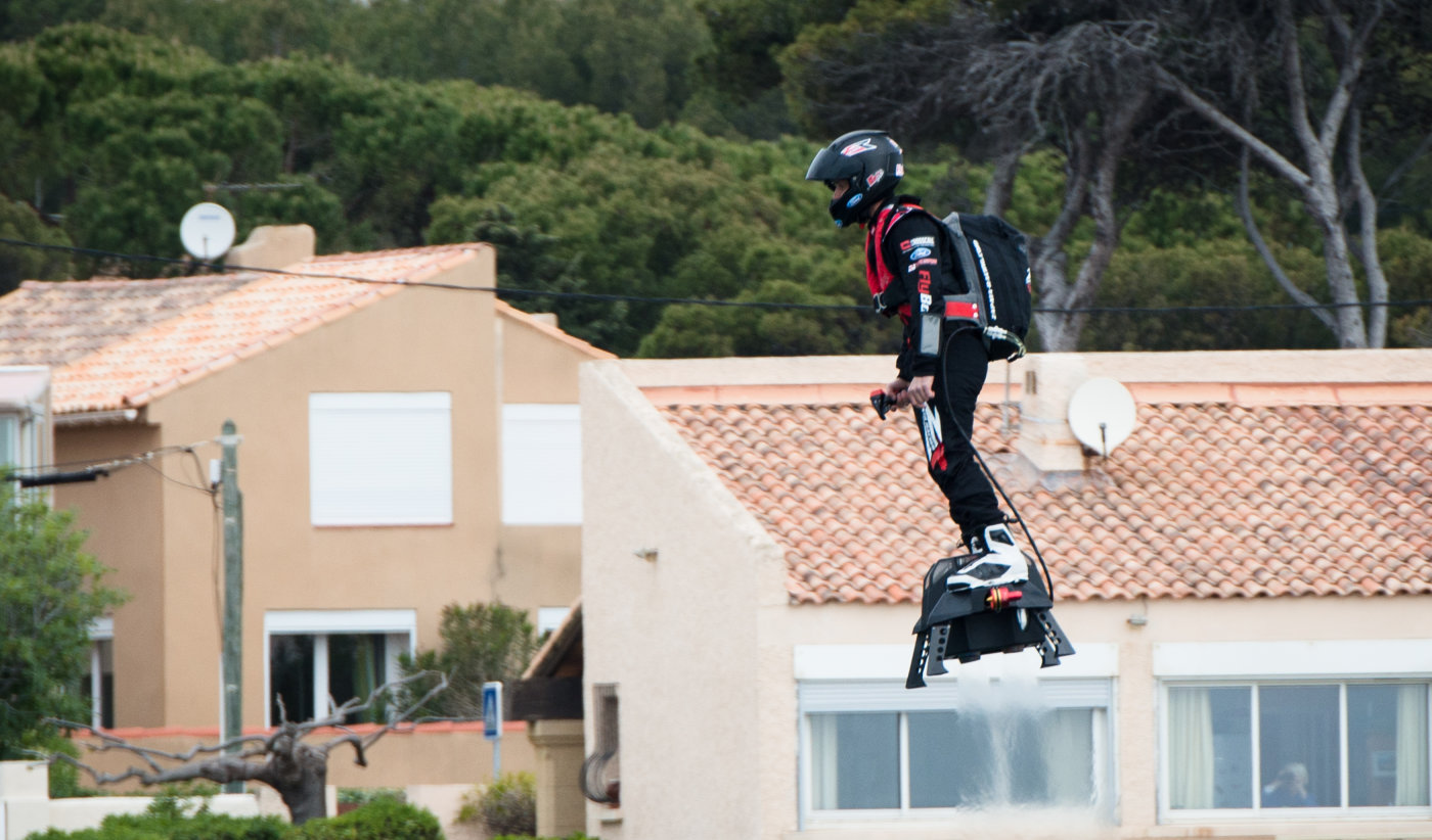 Hoverboard as new transportation method? (video)