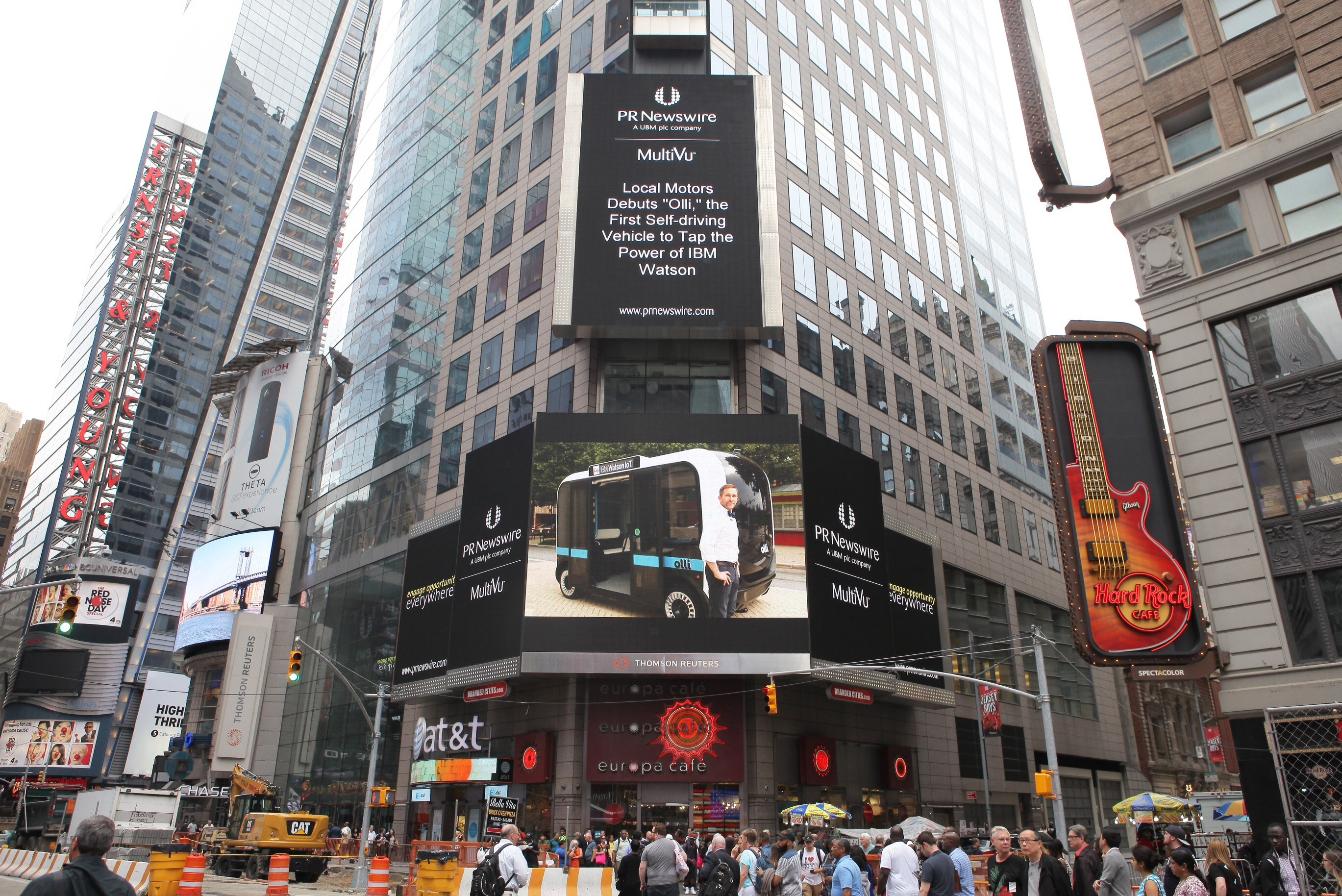 local motors times square