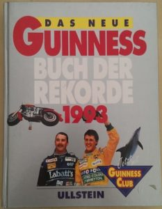 Guinness Book of Records 1993