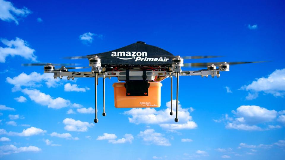 Watch Amazon first package delivered by drone