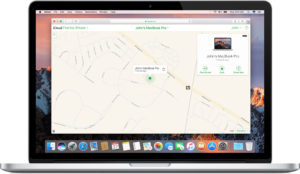 Find stolen MacBook (Find lost MacBook) - iCloud.com