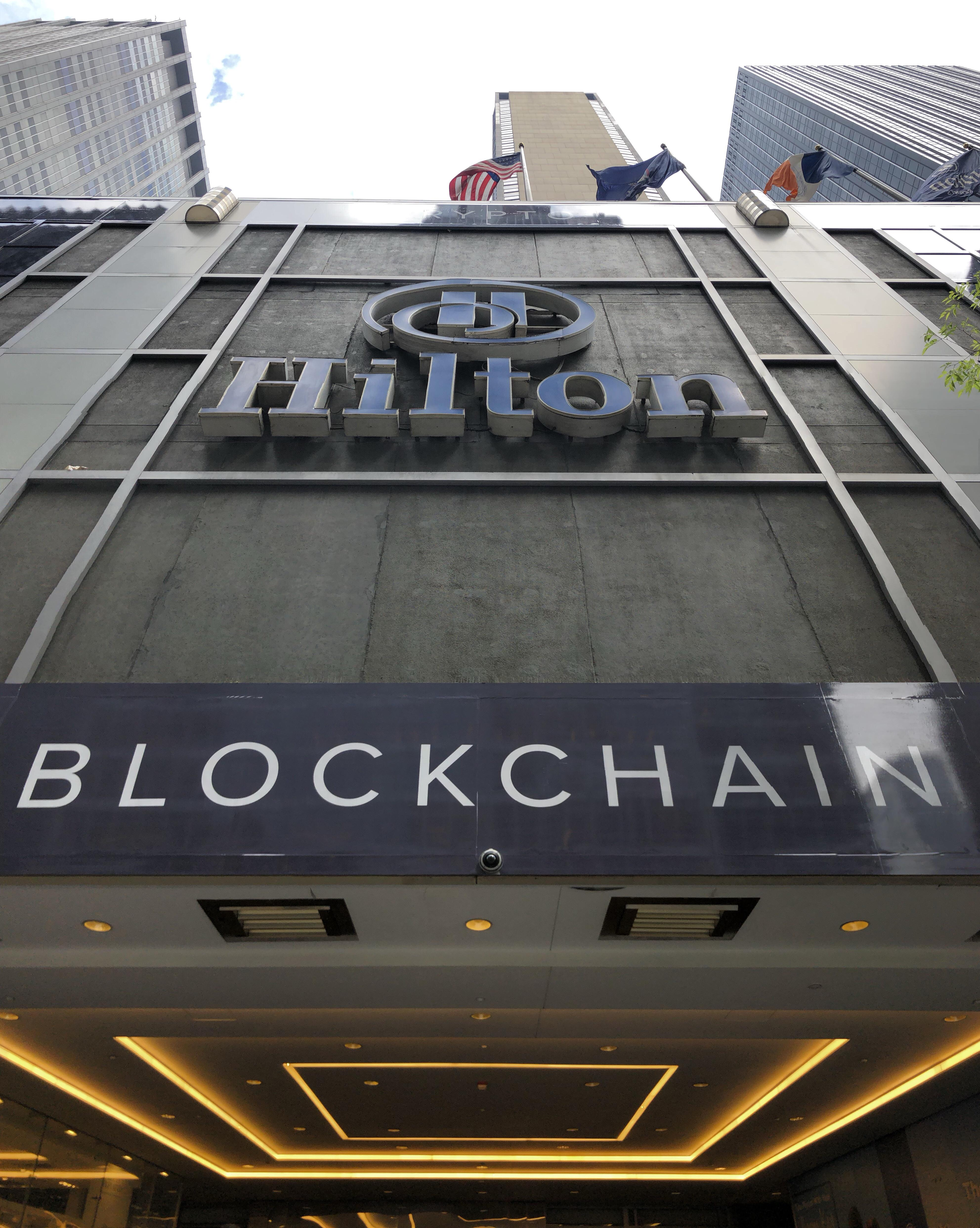 New York runs Blockchain