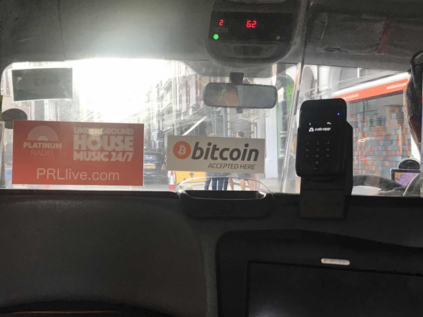 London Taxi accepting Bitcoin