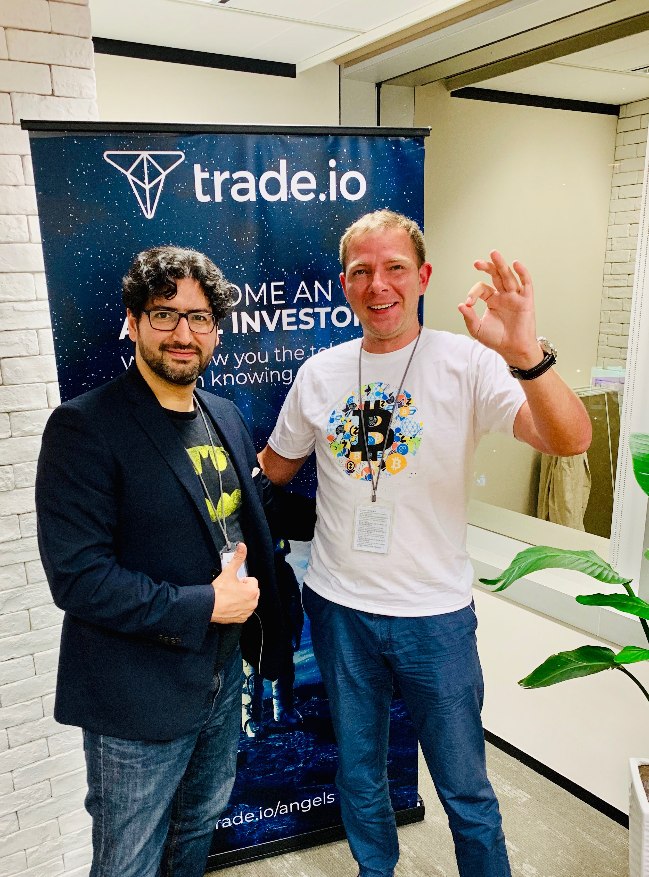 Dmitry Fedotov Pascal Lauria and Trade.io team