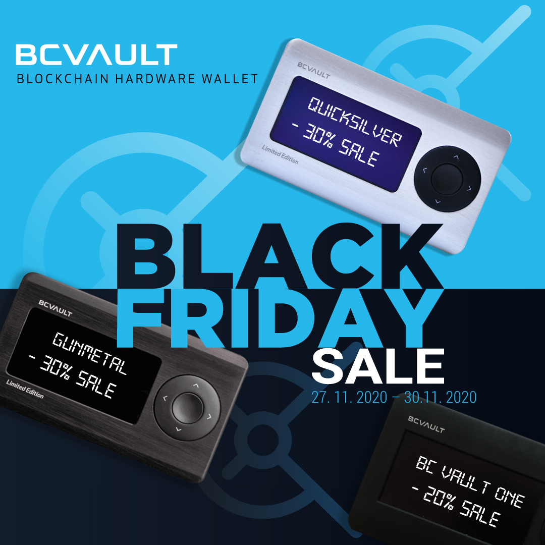 BC Vault Black Friday Offer