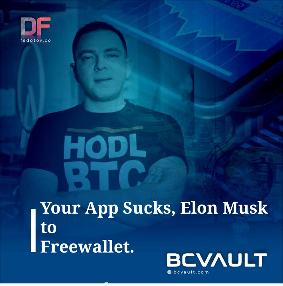 Elon Musk to Freewallet