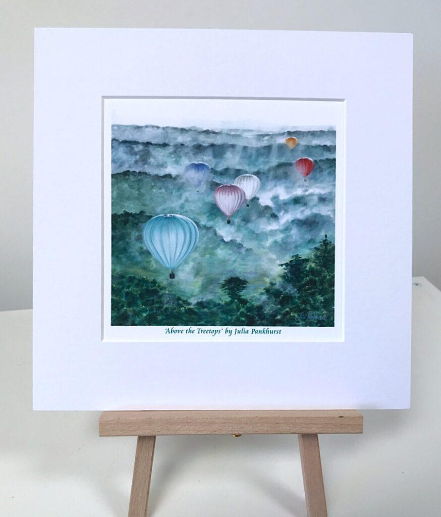 Hot Air Balloons Pankhurst Gallery
