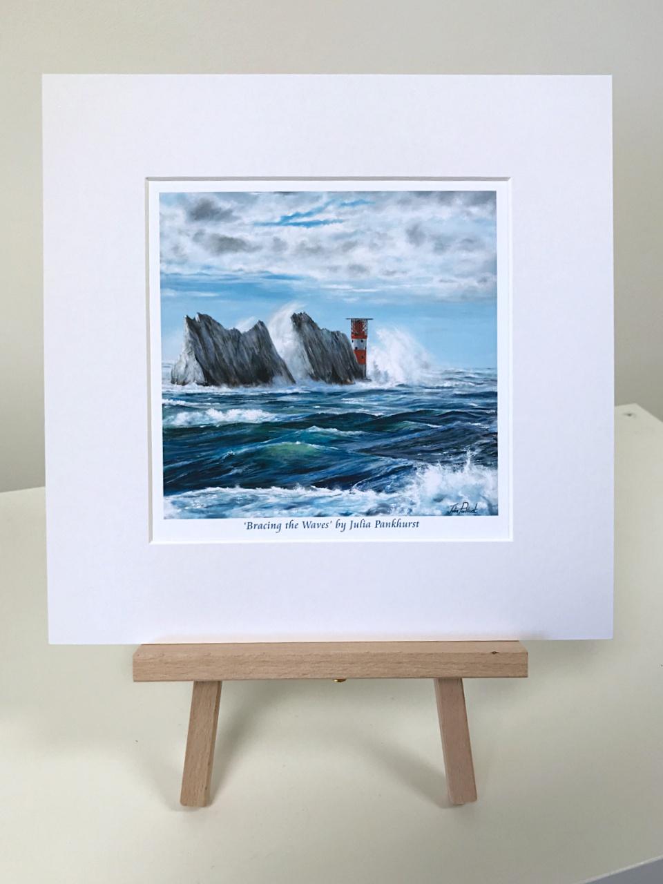 Crashing Waves Isle of Wight Pankhurst Gallery