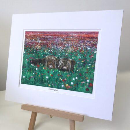 Brotherly Love Highland Cows Pankhurst Gallery