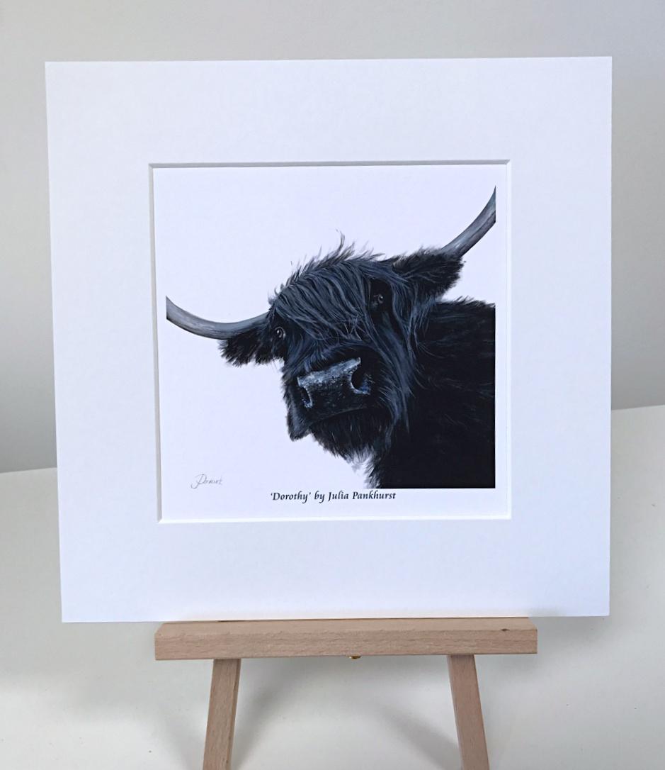 Dorothy Highland Cow Pankhurst Gallery