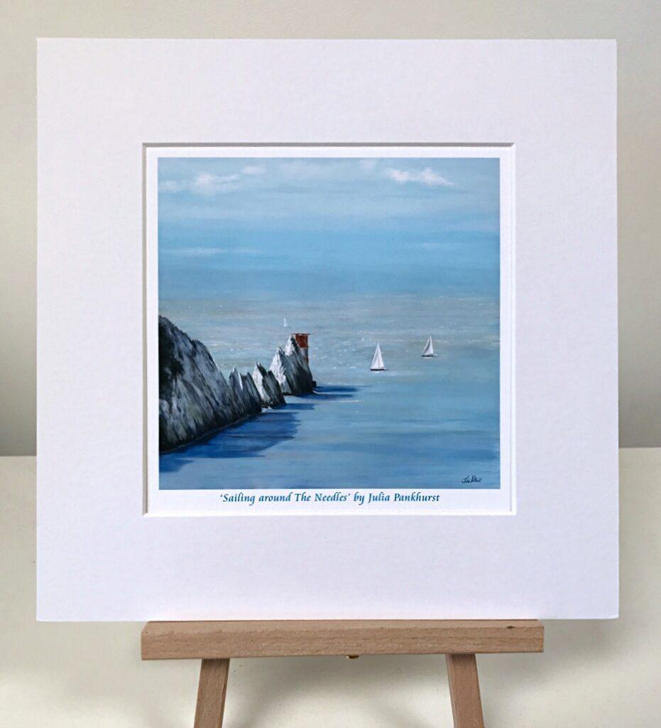 Sailing The Needles Isle of Wight Pankhurst Gallery