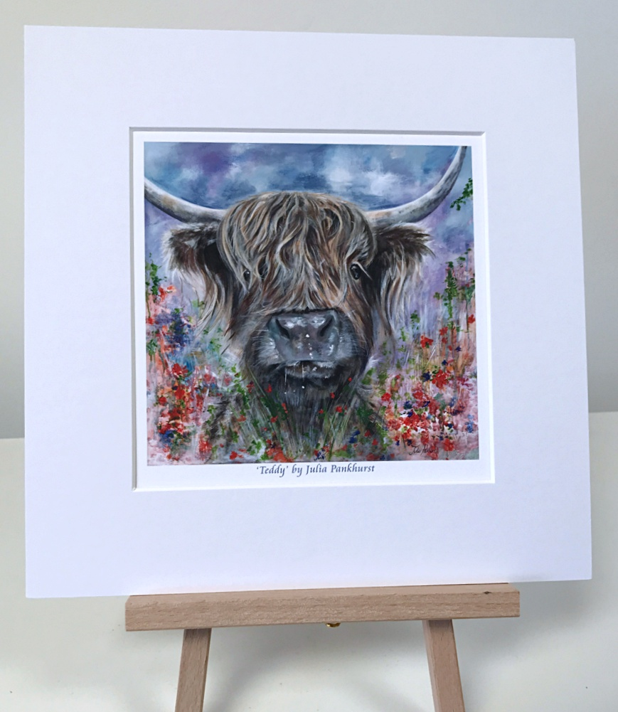 Teddy Highland Cow Pankhurst Gallery