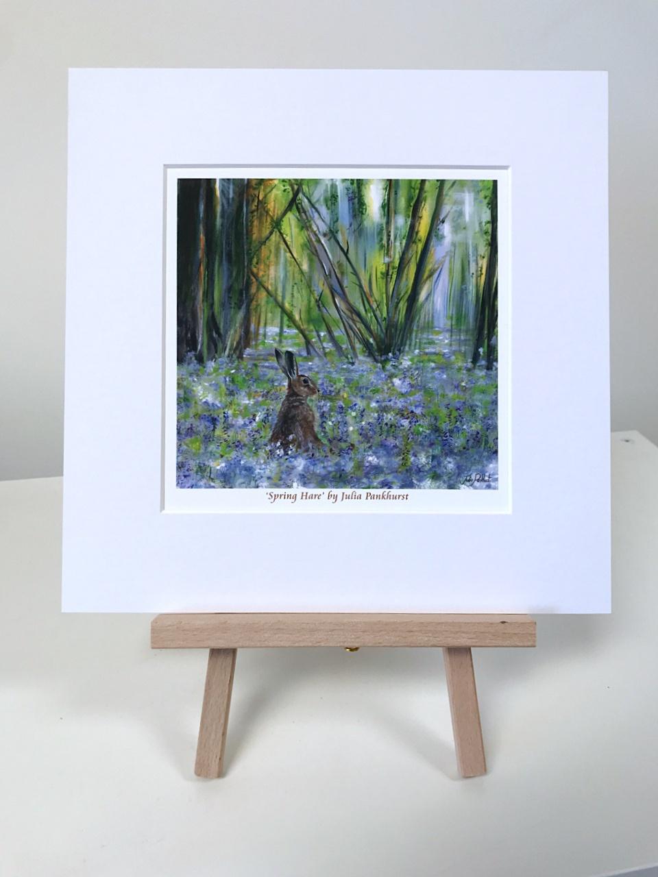 Spring Hare Pankhurst Gallery