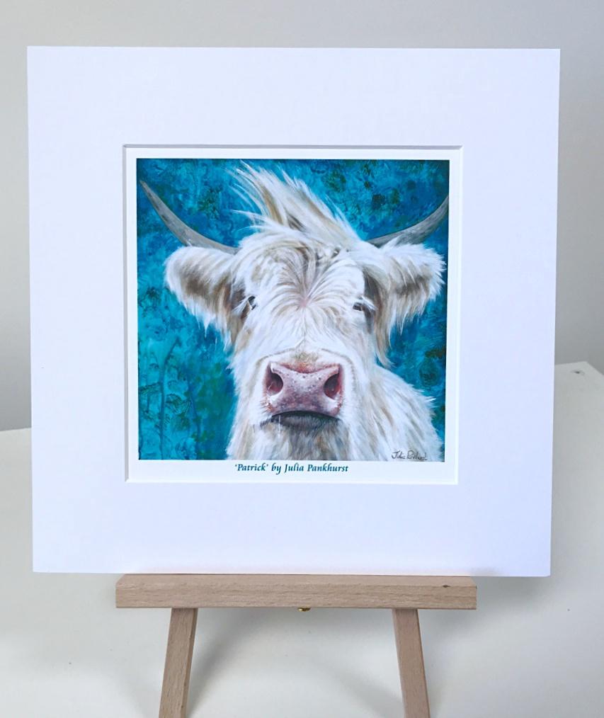 Patrick Highland Cow Pankhurst Gallery