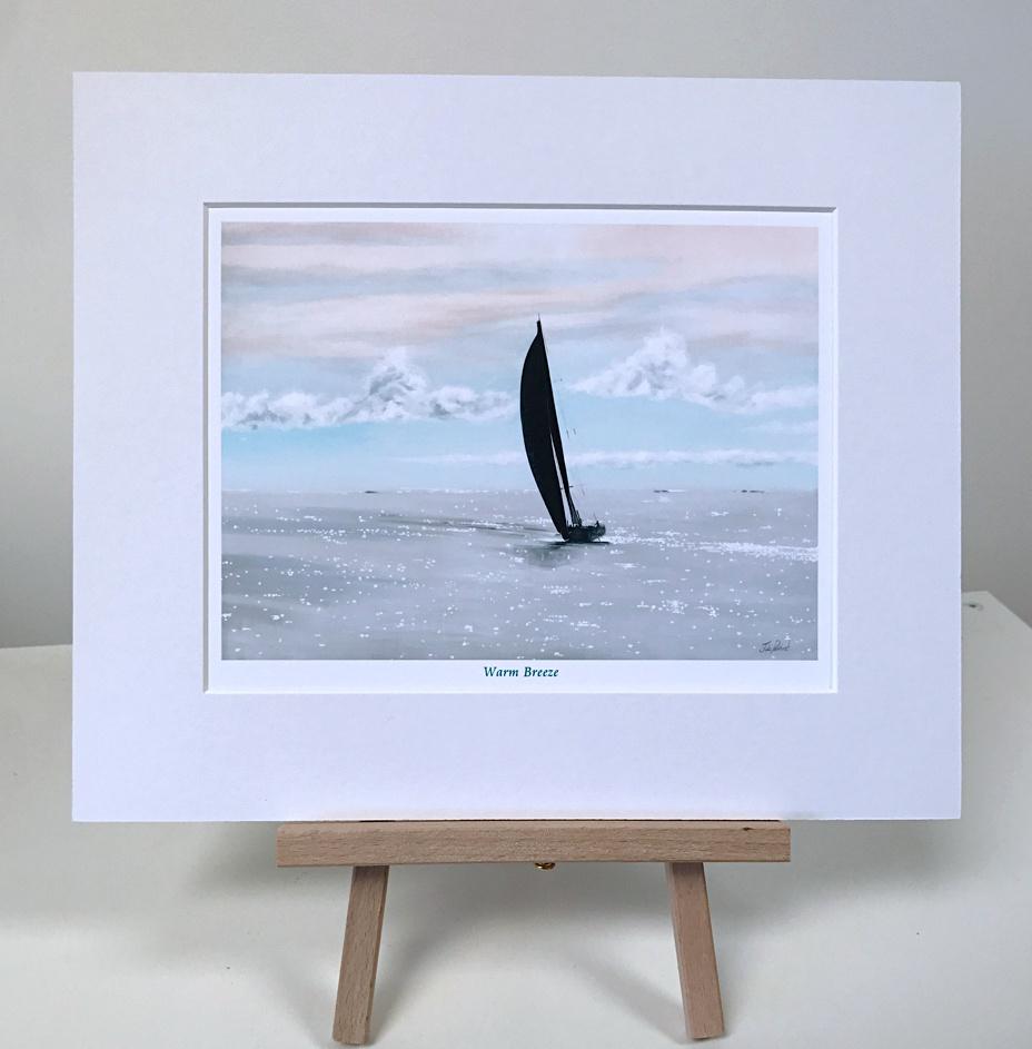 Sailing Warm Breeze Pankhurst Gallery