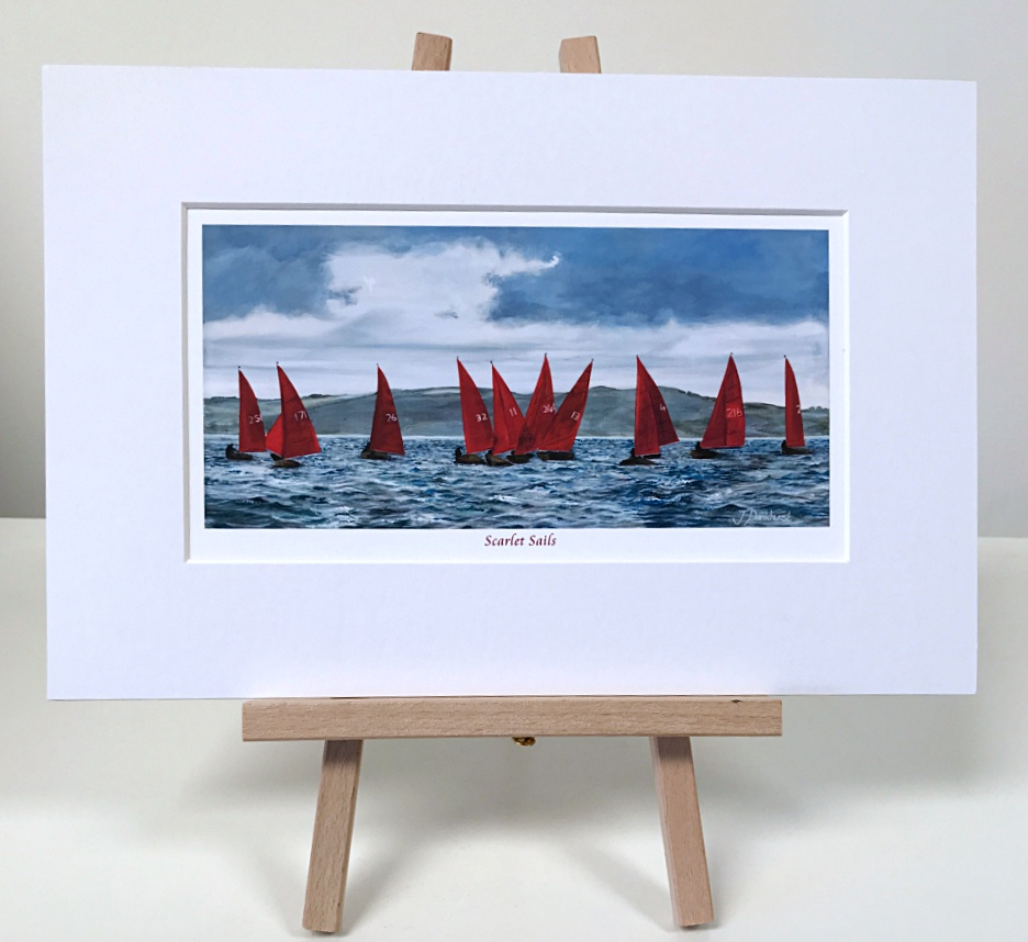 Scarlet Sails Yacht, Sailing Pankhurst Gallery