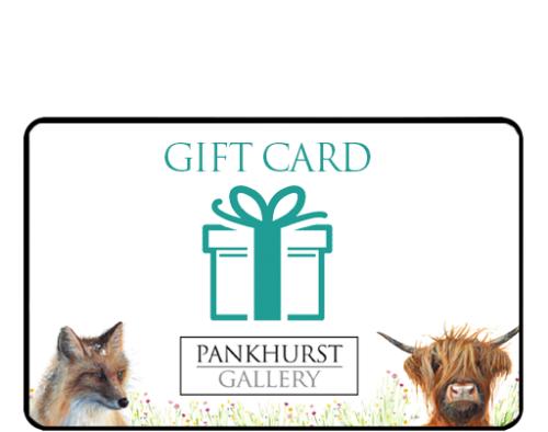 Pankhurst Gallery gift voucher