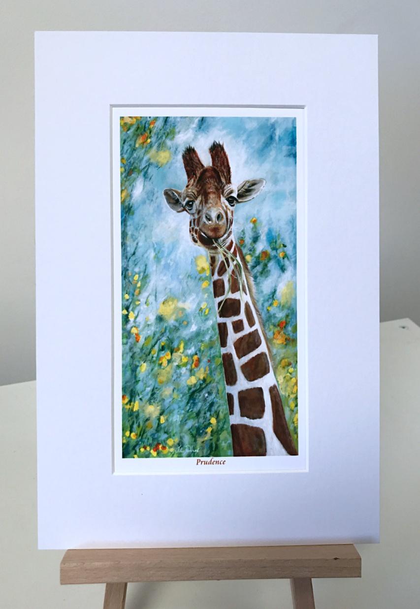 Prudence giraffe Pankhurst gallery
