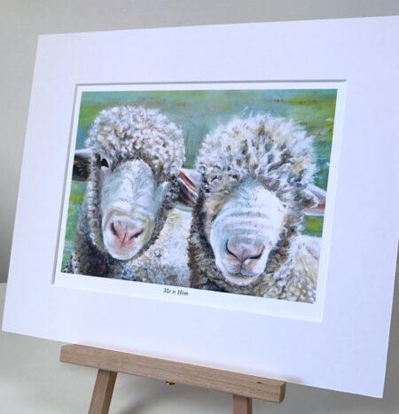 Pair of Sheep, Pankhurst Gallery