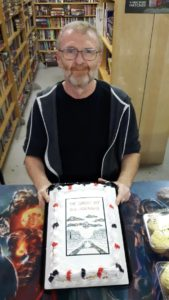 D.G. Laderoute and THE CAKE